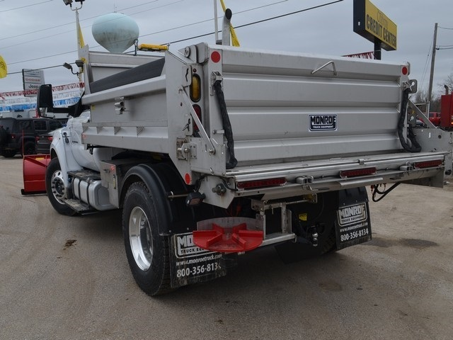 2019 F-650 Regular Cab DRW 4x2,  Monroe Dump Body #AT10217 - photo 6