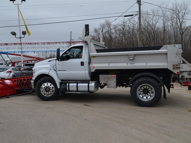 2019 F-650 Regular Cab DRW 4x2,  Monroe Dump Body #AT10217 - photo 7