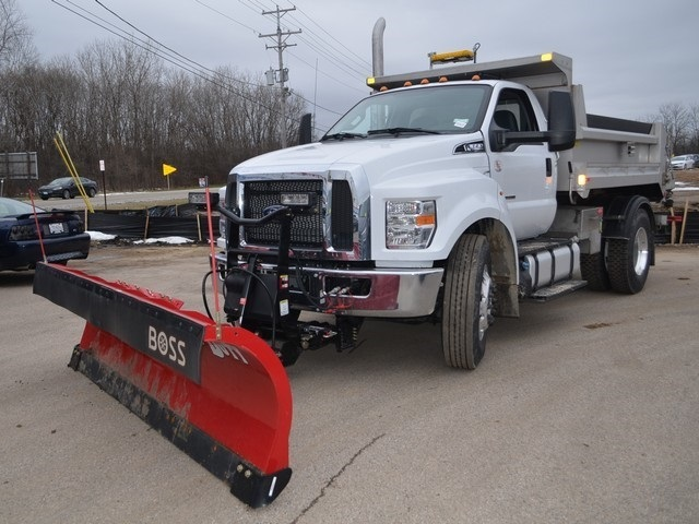 2019 F-650 Regular Cab DRW 4x2,  Monroe Dump Body #AT10217 - photo 8
