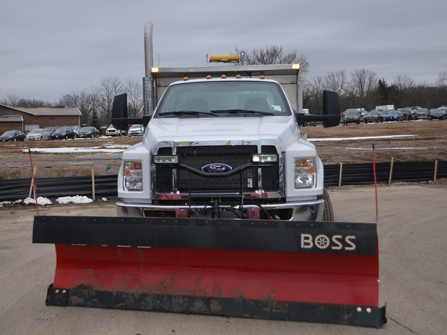 2019 F-650 Regular Cab DRW 4x2,  Monroe Dump Body #AT10217 - photo 9