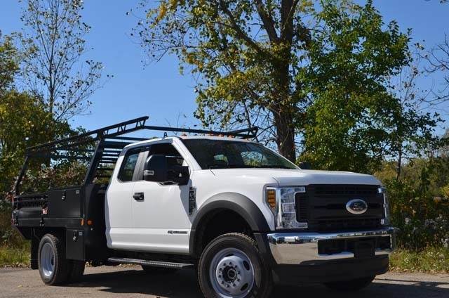 2019 F-450 Super Cab DRW 4x4,  Monroe Contractor Body #AT10220 - photo 9