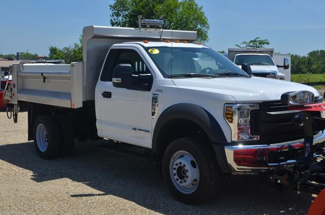 2018 F-550 Regular Cab DRW 4x4,  DuraClass Yardbird Dump Body #AT10232 - photo 3