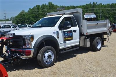 2018 F-550 Regular Cab DRW 4x4,  DuraClass Yardbird Dump Body #AT10232 - photo 8