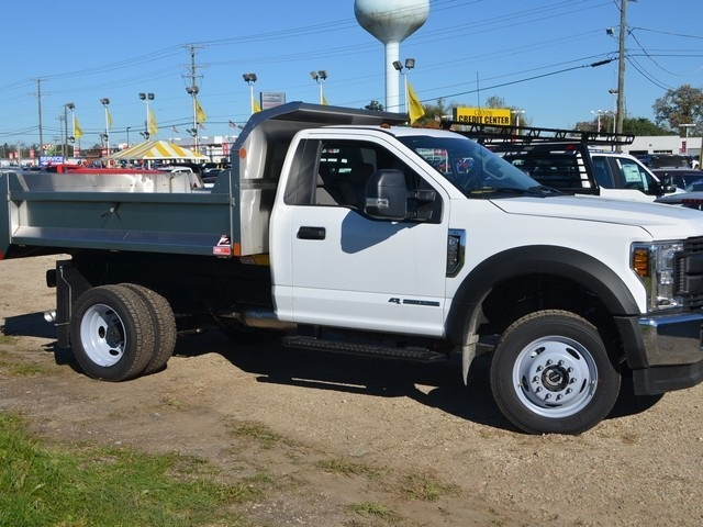 2019 F-450 Regular Cab DRW 4x4,  Monroe Dump Body #AT10239 - photo 5
