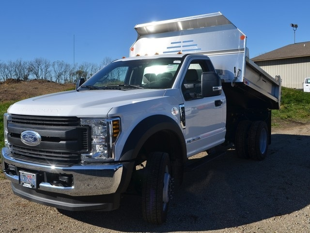 2019 F-450 Regular Cab DRW 4x4,  Monroe Dump Body #AT10239 - photo 14