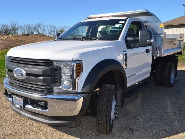 2019 F-450 Regular Cab DRW 4x4,  Monroe Dump Body #AT10239 - photo 7