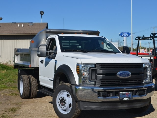 2019 F-450 Regular Cab DRW 4x4,  Monroe Dump Body #AT10239 - photo 9