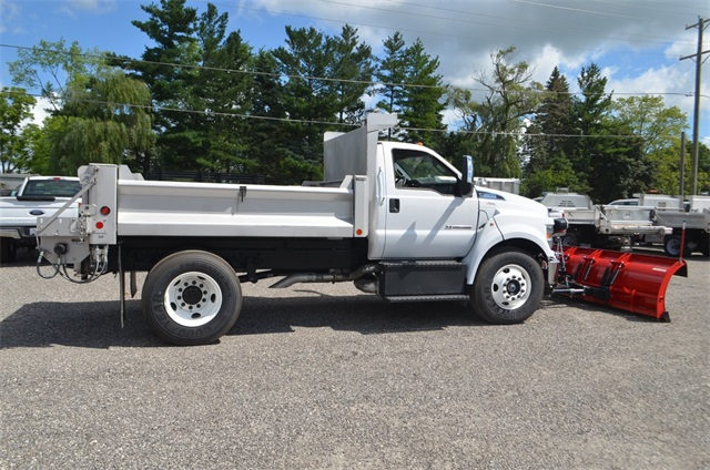 2019 F-650 Regular Cab DRW 4x2,  Cab Chassis #AT10240 - photo 4
