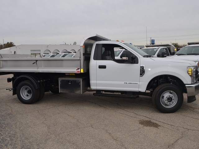 2019 F-350 Regular Cab DRW 4x4,  Monroe Dump Body #AT10273 - photo 4