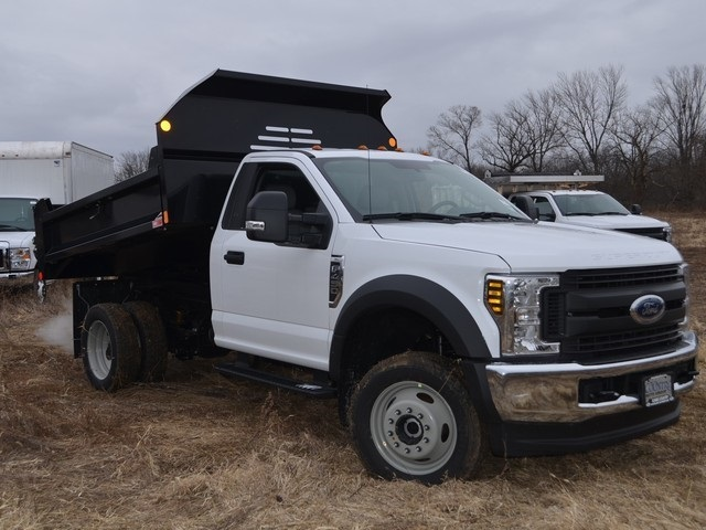 2019 F-450 Regular Cab DRW 4x4,  Monroe Dump Body #AT10274 - photo 10