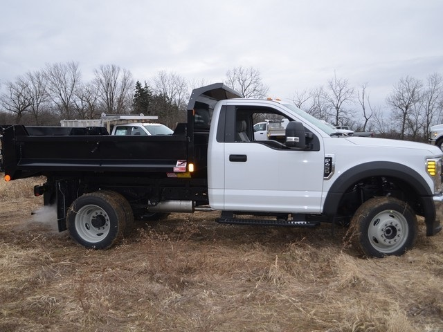 2019 F-450 Regular Cab DRW 4x4,  Monroe Dump Body #AT10274 - photo 4