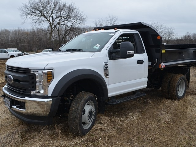2019 F-450 Regular Cab DRW 4x4,  Monroe Dump Body #AT10274 - photo 7