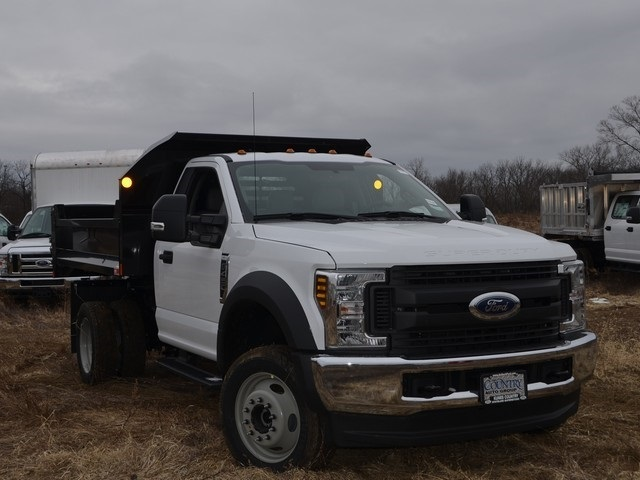 2019 F-450 Regular Cab DRW 4x4,  Monroe Dump Body #AT10274 - photo 9