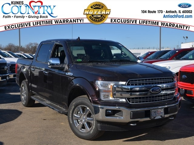 2018 F-150 SuperCrew Cab 4x4,  Pickup #AT10282 - photo 1