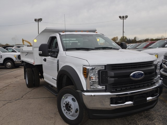 2019 F-450 Regular Cab DRW 4x4,  Monroe Dump Body #AT10298 - photo 10