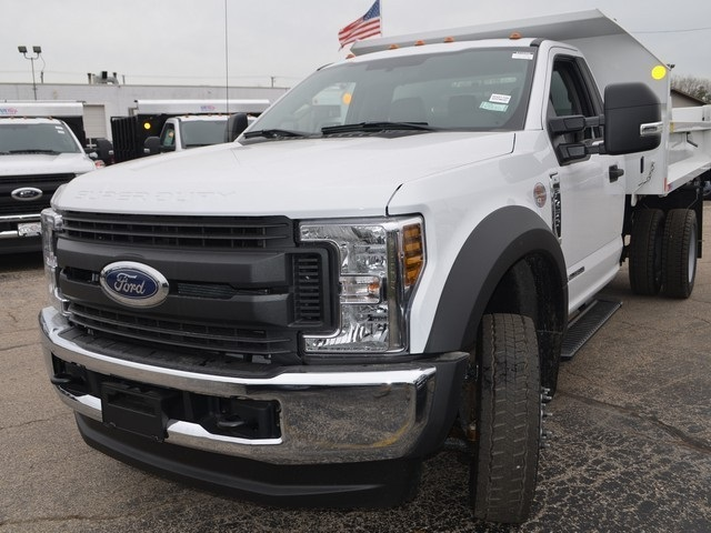 2019 F-450 Regular Cab DRW 4x4,  Monroe Dump Body #AT10298 - photo 8