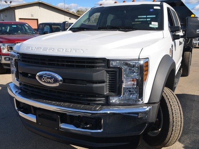 2019 F-550 Crew Cab DRW 4x4,  Monroe Dump Body #AT10307 - photo 7