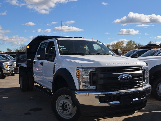 2019 F-550 Crew Cab DRW 4x4,  Monroe Dump Body #AT10307 - photo 9