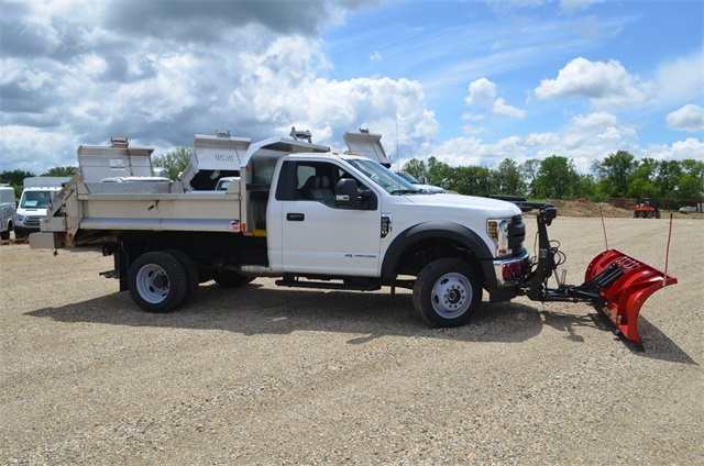 2019 F-450 Regular Cab DRW 4x4,  Monroe Dump Body #AT10523 - photo 2