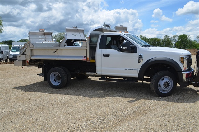 2019 F-450 Regular Cab DRW 4x4,  Monroe Dump Body #AT10523 - photo 5