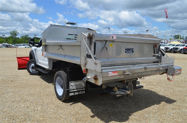 2019 F-450 Regular Cab DRW 4x4,  Monroe Dump Body #AT10523 - photo 8