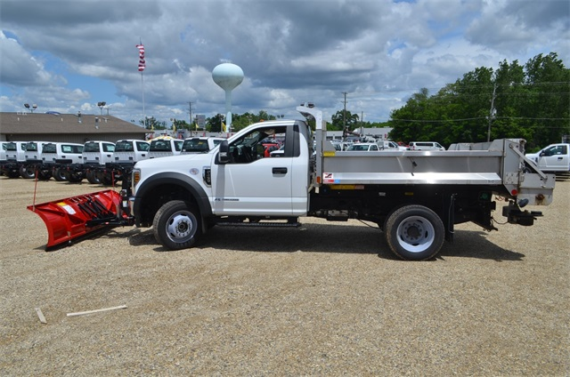 2019 F-450 Regular Cab DRW 4x4,  Monroe Dump Body #AT10523 - photo 9