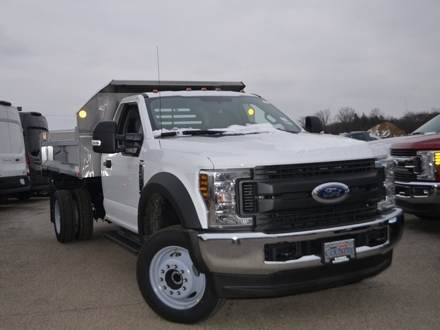 2019 F-450 Regular Cab DRW 4x4,  Monroe Dump Body #AT10538 - photo 10