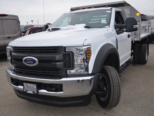 2019 F-450 Regular Cab DRW 4x4,  Monroe Dump Body #AT10538 - photo 8
