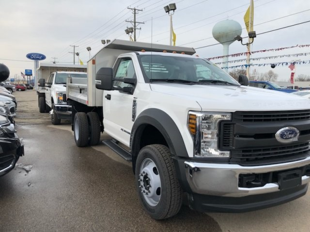 2019 F-450 Regular Cab DRW 4x4,  Monroe Dump Body #AT10540 - photo 4