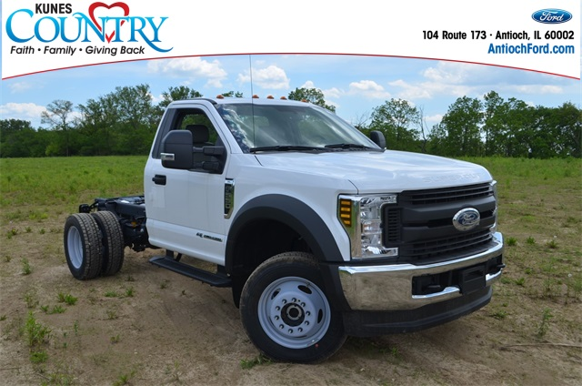 2019 Ford F-550 Regular Cab DRW 4x4, Cab Chassis #AT10578 - photo 1