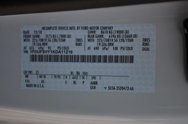 2019 F-550 Regular Cab DRW 4x4,  Monroe MTE-Zee SST Series Dump Body #AT10718 - photo 26