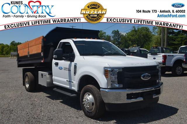 2019 F-350 Regular Cab DRW 4x4, Monroe Dump Body #AT11027 - photo 1