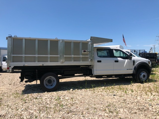 2019 F-450 Crew Cab DRW 4x4, Monroe Landscape Dump #AT11152 - photo 1