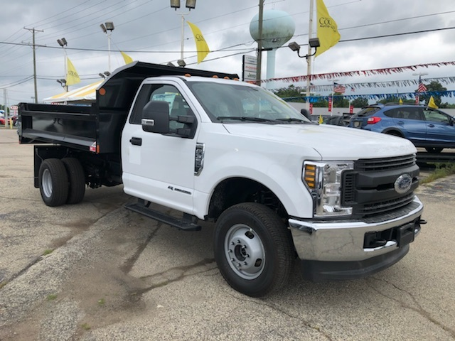 2019 F-350 Regular Cab DRW 4x4, Monroe Dump Body #AT11241 - photo 1