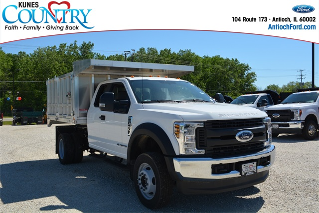 2019 Ford F-450 Super Cab DRW 4x4, Monroe Landscape Dump #AT11556 - photo 1