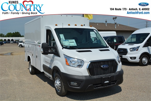 2020 Ford Transit 350 HD DRW RWD, Reading Service Utility Van #AT12184 - photo 1
