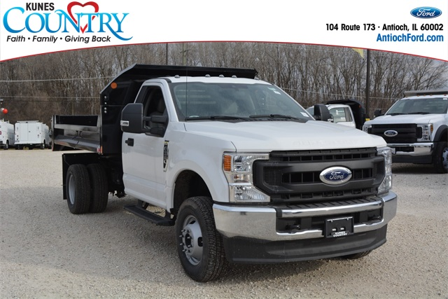 2020 Ford F-350 Regular Cab DRW 4x4, Monroe Dump Body #AT12524 - photo 1