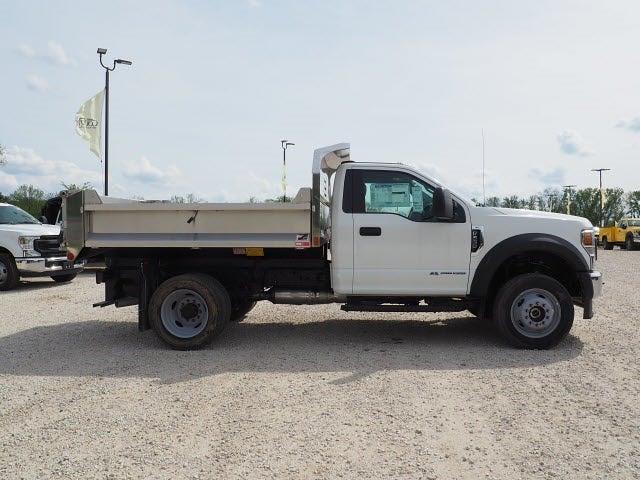 2021 Ford F-550 Regular Cab DRW 4x4, Monroe Dump Body #AT12807 - photo 1