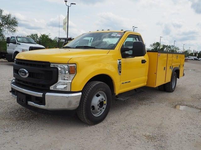 2021 F-350 Regular Cab DRW 4x2,  Monroe Truck Equipment MSS II Service Body #AT12910 - photo 7