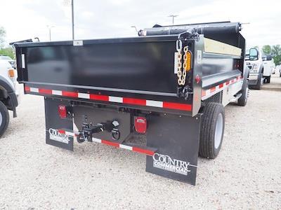 2020 F-550 Regular Cab DRW 4x4,  Indiana Upfitters Dump Body #AT12995 - photo 2