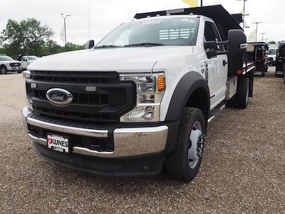 2020 F-550 Regular Cab DRW 4x4,  Indiana Upfitters Dump Body #AT12997 - photo 3