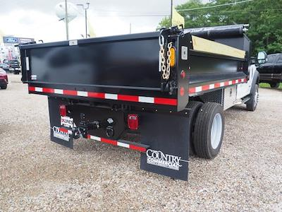 2020 F-550 Regular Cab DRW 4x4,  Indiana Upfitters Dump Body #AT12997 - photo 2
