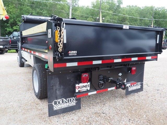 2020 F-550 Regular Cab DRW 4x4,  Indiana Upfitters Dump Body #AT12999 - photo 4