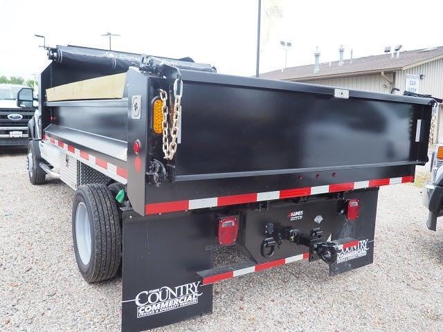 2020 F-550 Regular Cab DRW 4x4,  Indiana Upfitters Dump Body #AT13000 - photo 17