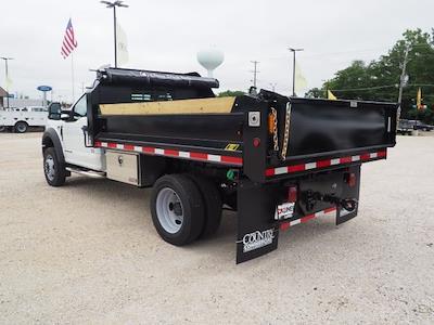 2020 F-550 Regular Cab DRW 4x4,  Indiana Upfitters Dump Body #AT13013 - photo 4