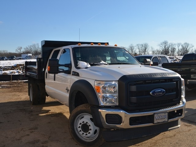 2016 F-450 Crew Cab DRW 4x2,  Air-Flo Dump Body #T7985 - photo 9