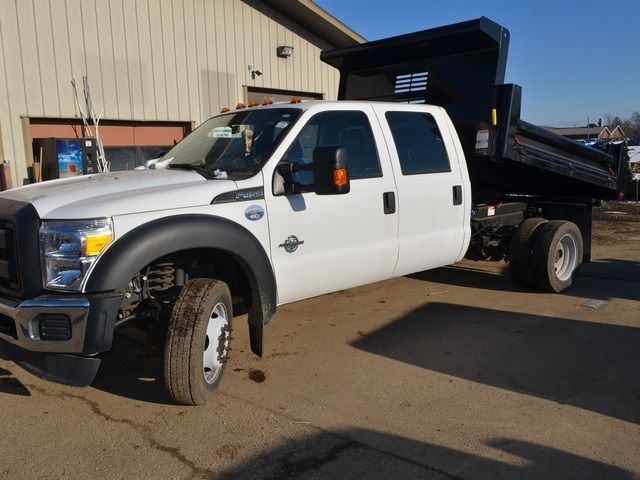 2016 F-450 Crew Cab DRW 4x2,  Air-Flo Dump Body #T7985 - photo 16