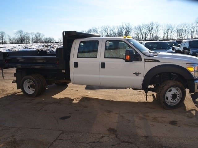 2016 F-450 Crew Cab DRW 4x2,  Air-Flo Dump Body #T7985 - photo 6