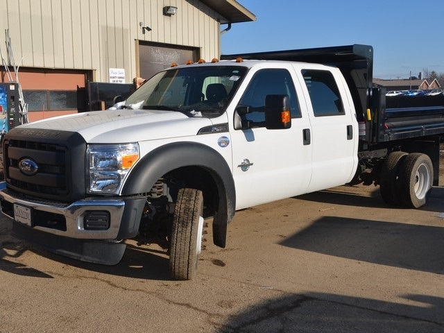 2016 F-450 Crew Cab DRW 4x2,  Air-Flo Dump Body #T7985 - photo 4