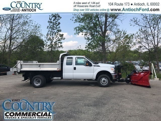 2016 F-350 Super Cab DRW 4x4,  Monroe Dump Body #T8158 - photo 2